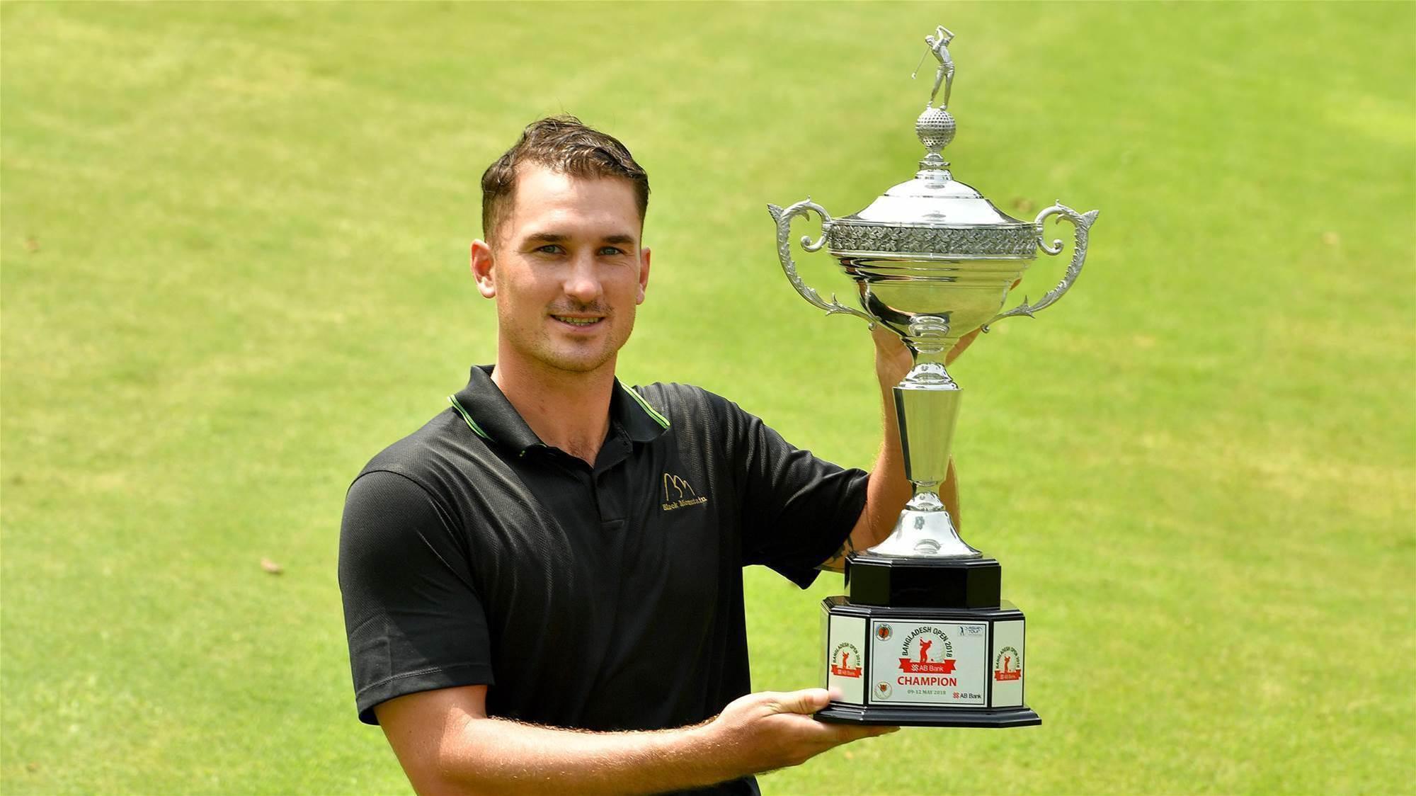 Swede taste of victory for Kokocinski at AB Bank Bangladesh Open