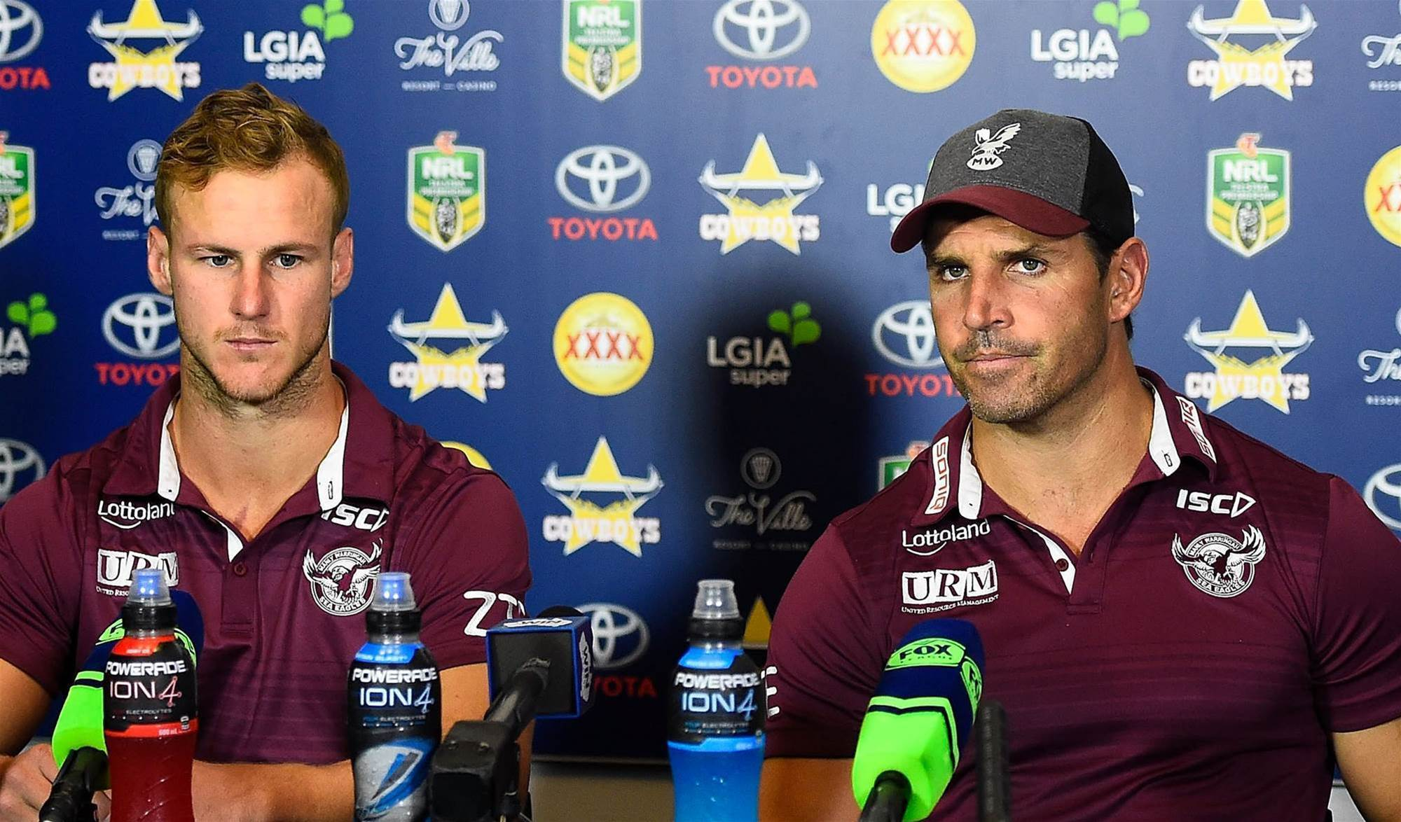 Sponsor stands by Manly amid cap drama