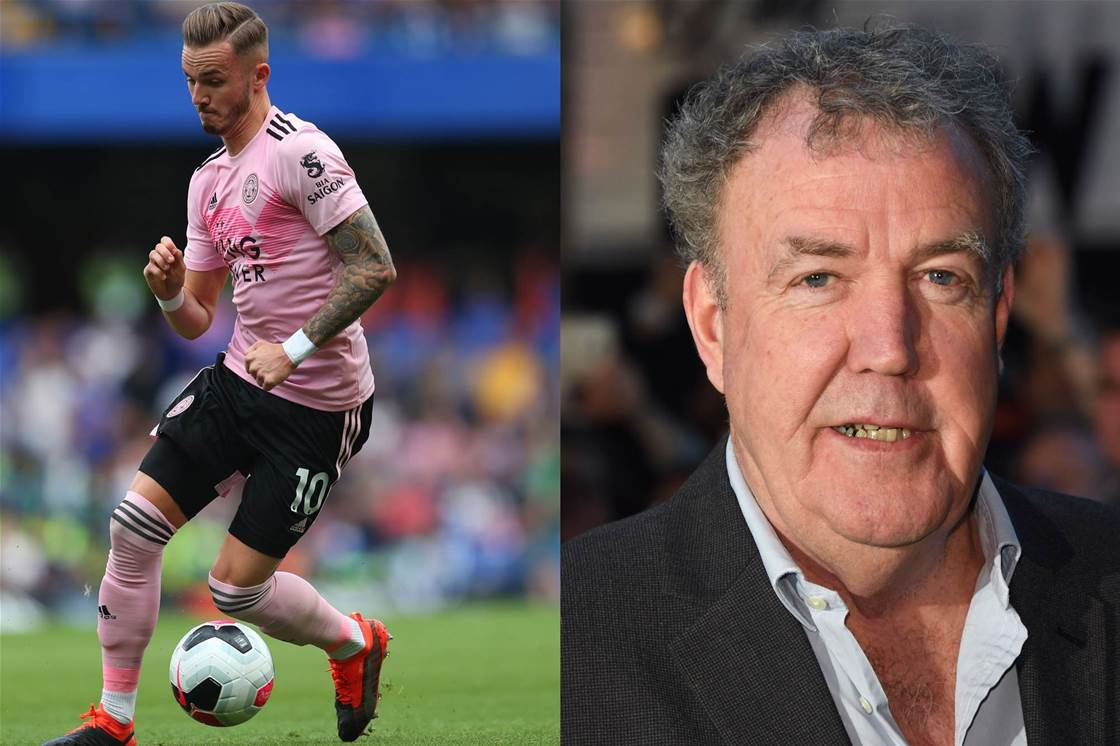 James Maddison hits back at ex-Top Gear host Jeremy Clarkson in hilarious tweet