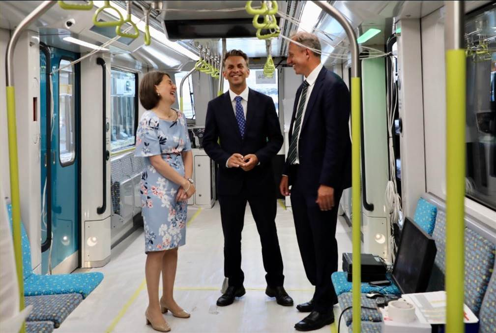 Sydney's driverless Metro completes first full run on NW corridor