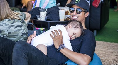 Pro Surfer Has World's First Baby