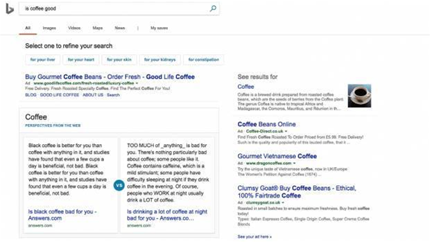 Fake news is Bing's golden opportunity to take on Google