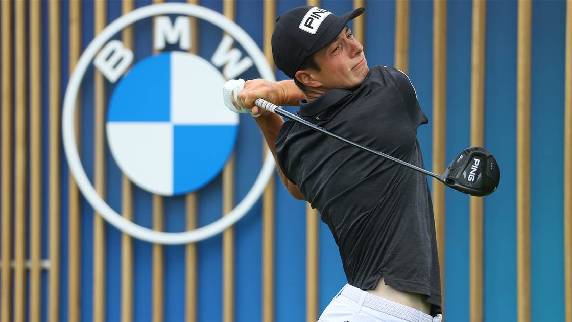 Hovland in command at BMW International Open