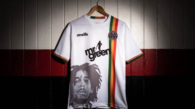 Bohemian F.C. forced to axe Bob Marley kit