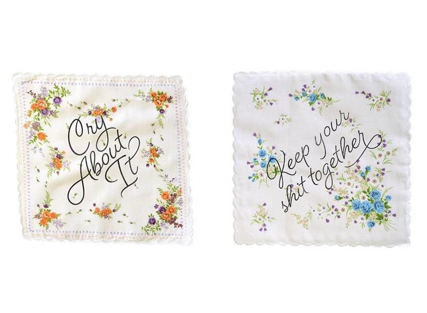 wipe your tears away with boldfaced goods' cheeky hankies