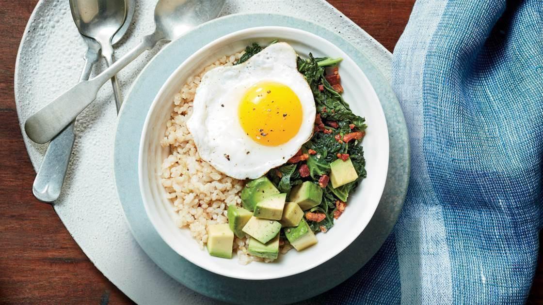 Bacon, Egg & Kale Bowl Recipe