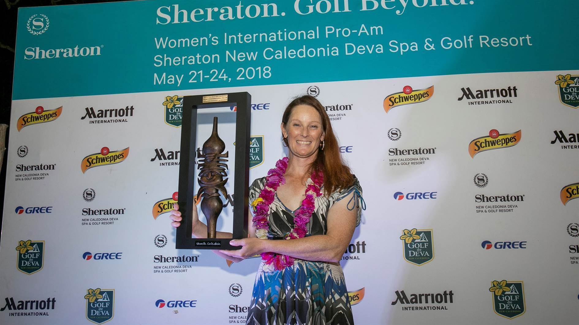 Relieved Gill takes Sheraton New Caledonia Deva Pro-am title