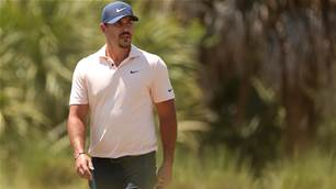 Angry Koepka 'dinged' in gallery frenzy