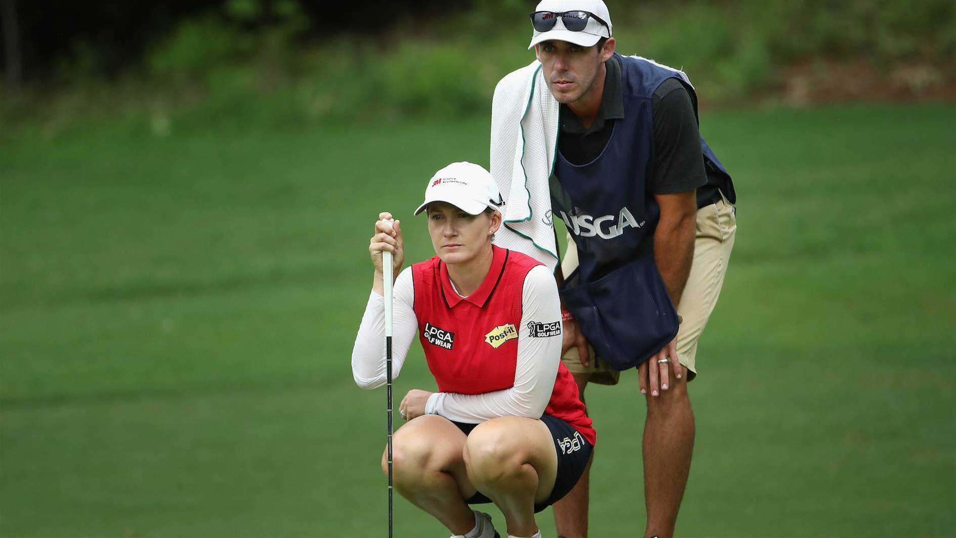 Smith's caddie knows her better than any