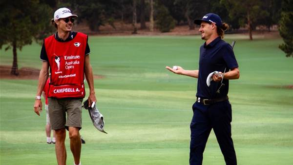 Open first-timer Campbell ready for Saturday fourball