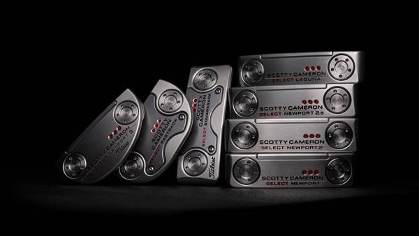 New Scotty Cameron Select putters