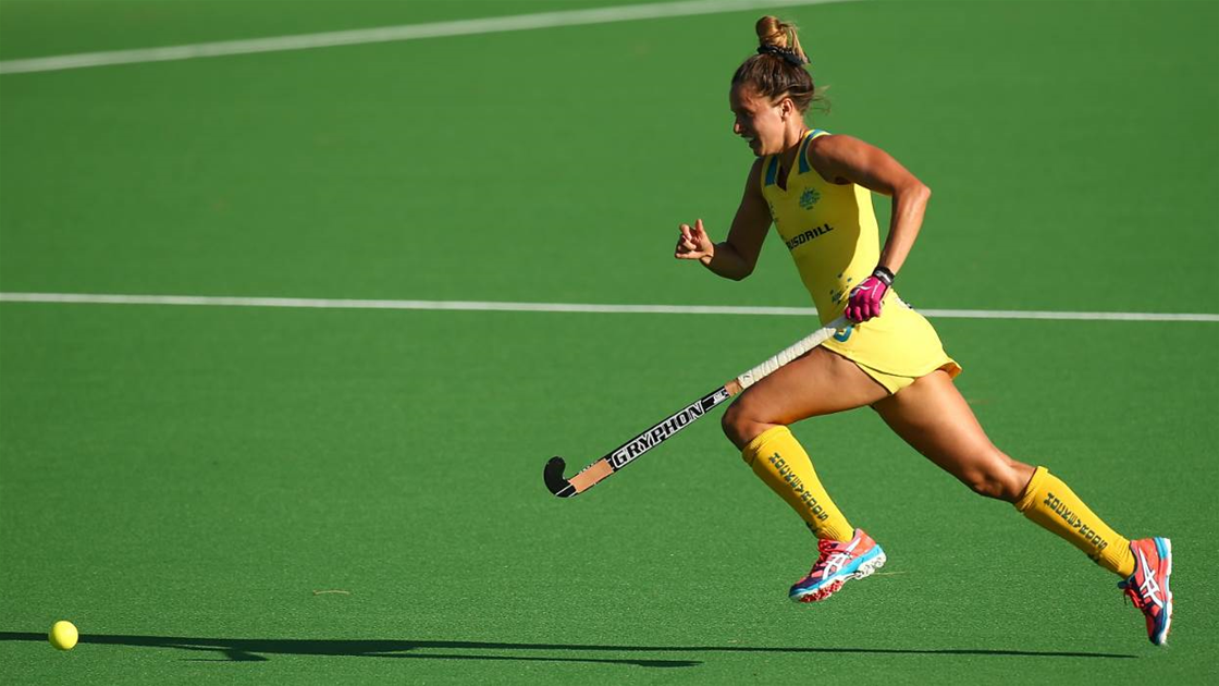 Hockeyroos set for Champions Trophy
