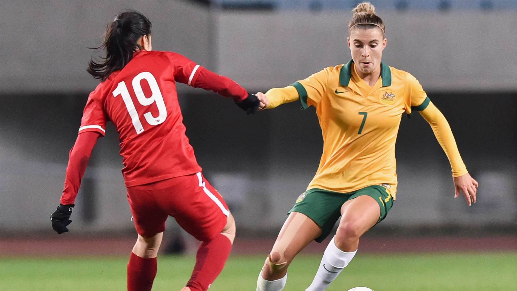 It's back to business for Catley