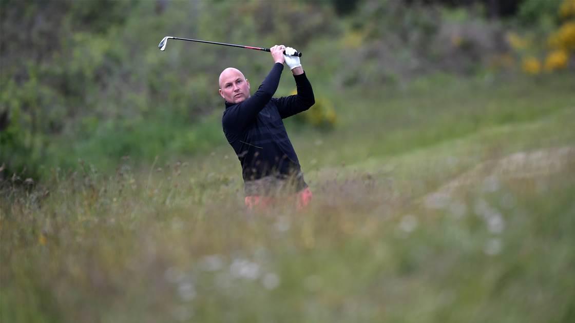 Clark sets course record to lead Amateur qualifiers