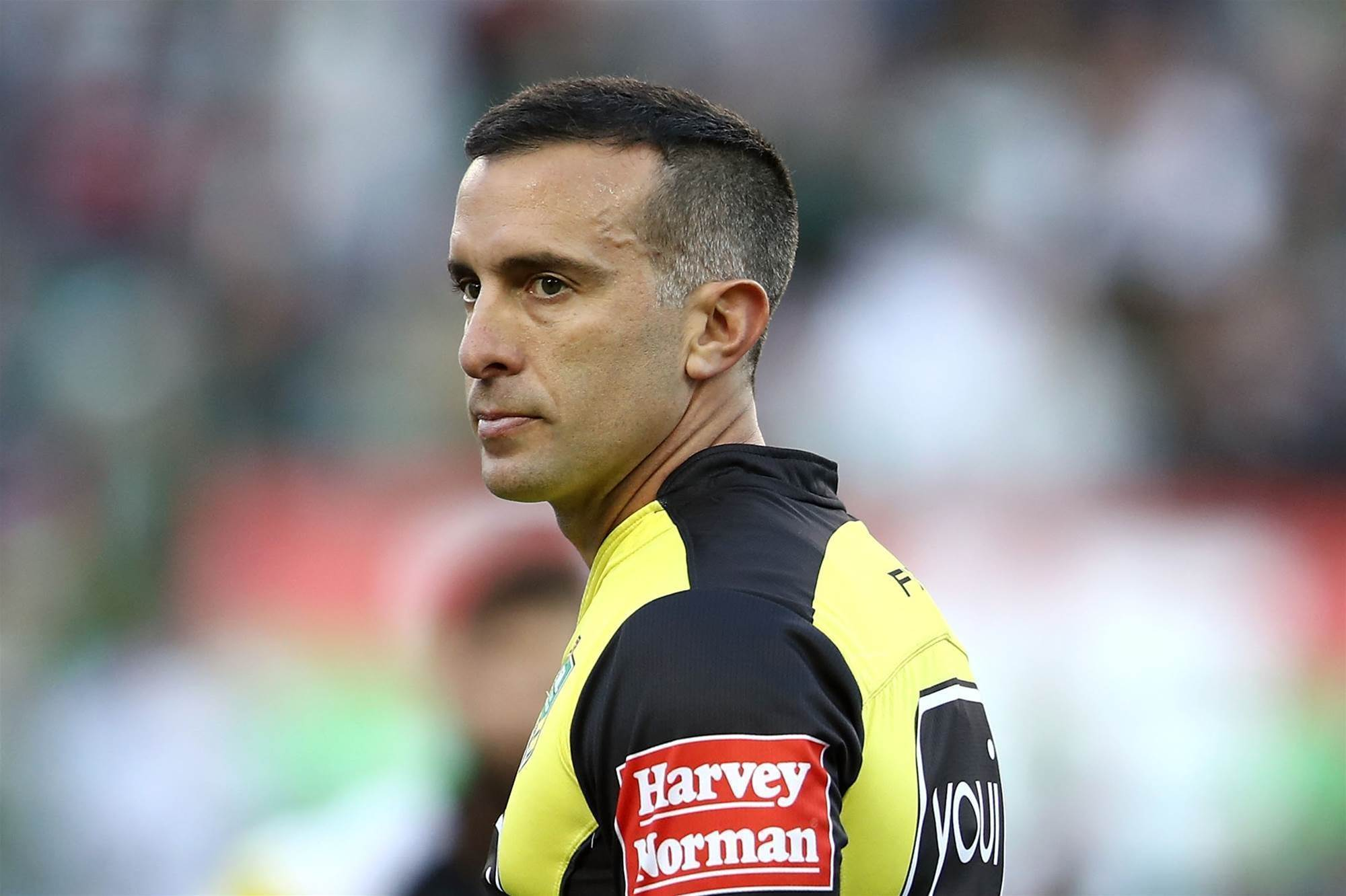 World Cup ref accused of racism