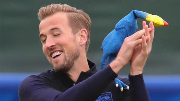 England train with rubber chicken ahead of Croatia semi-final