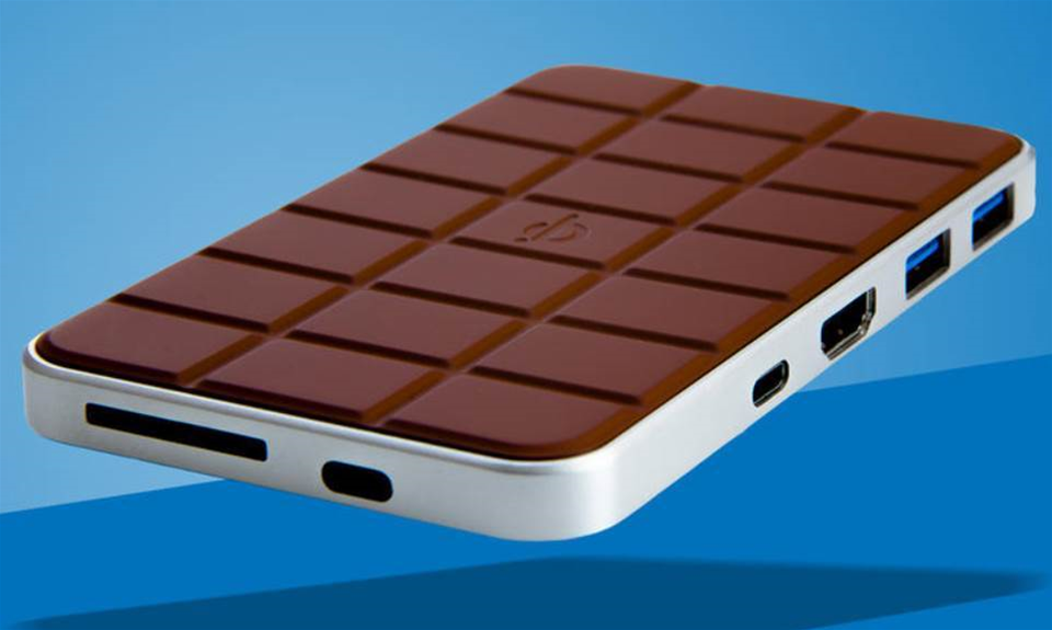 Chocolate Hub 2 brings together your MacBook and iPhone in connectivity and charging bliss