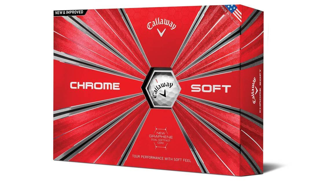 Callaway's Chrome Soft now even softer