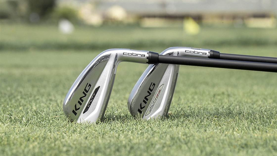 Cobra King Utility built for heightened long iron performance