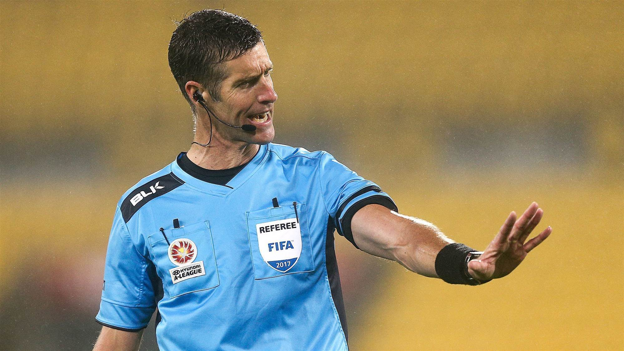 A-League ref ready for his World Cup moment
