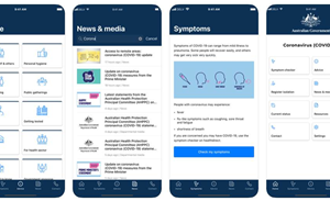 Australia launches COVID-19 app, WhatsApp chat