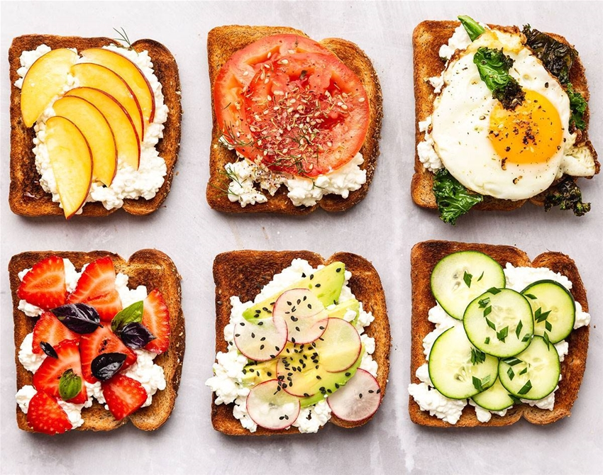 seven ways to fancy up your toast