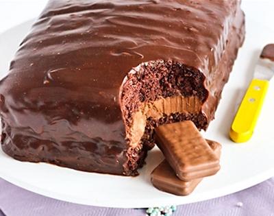 giant tim tam cake