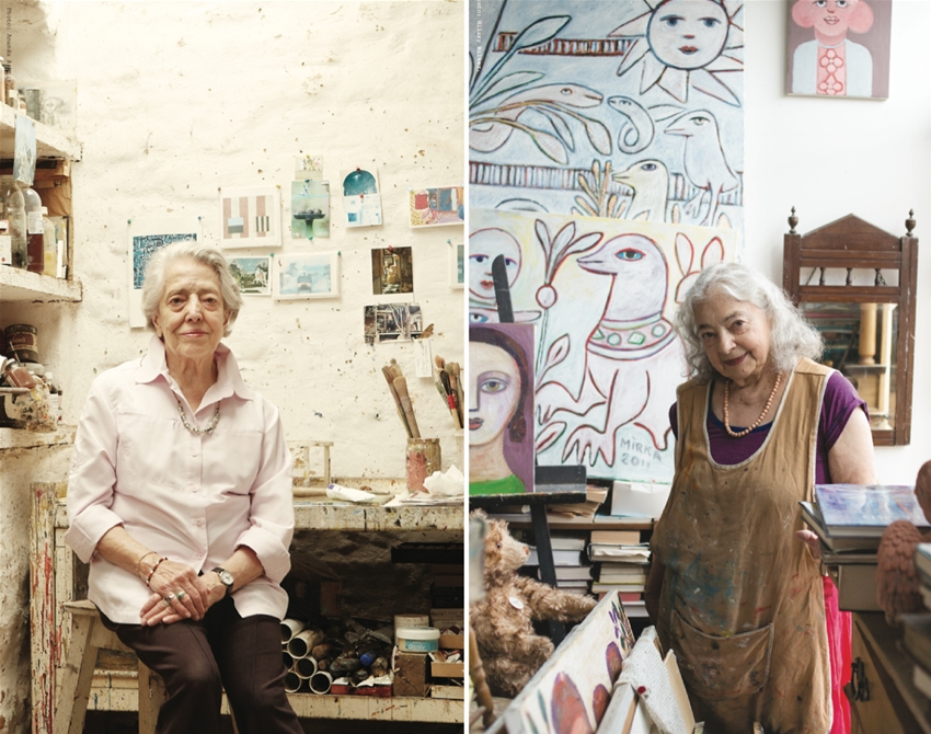 four iconic australian artists talk change, ageing, failure and creativity
