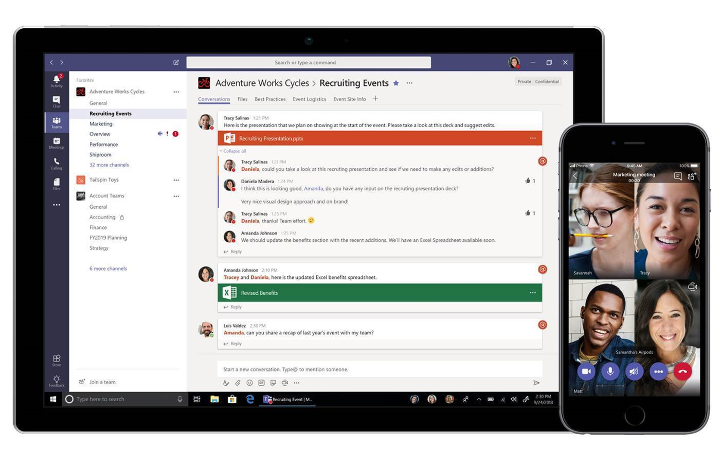 Microsoft takes fight to Slack with free version of Teams