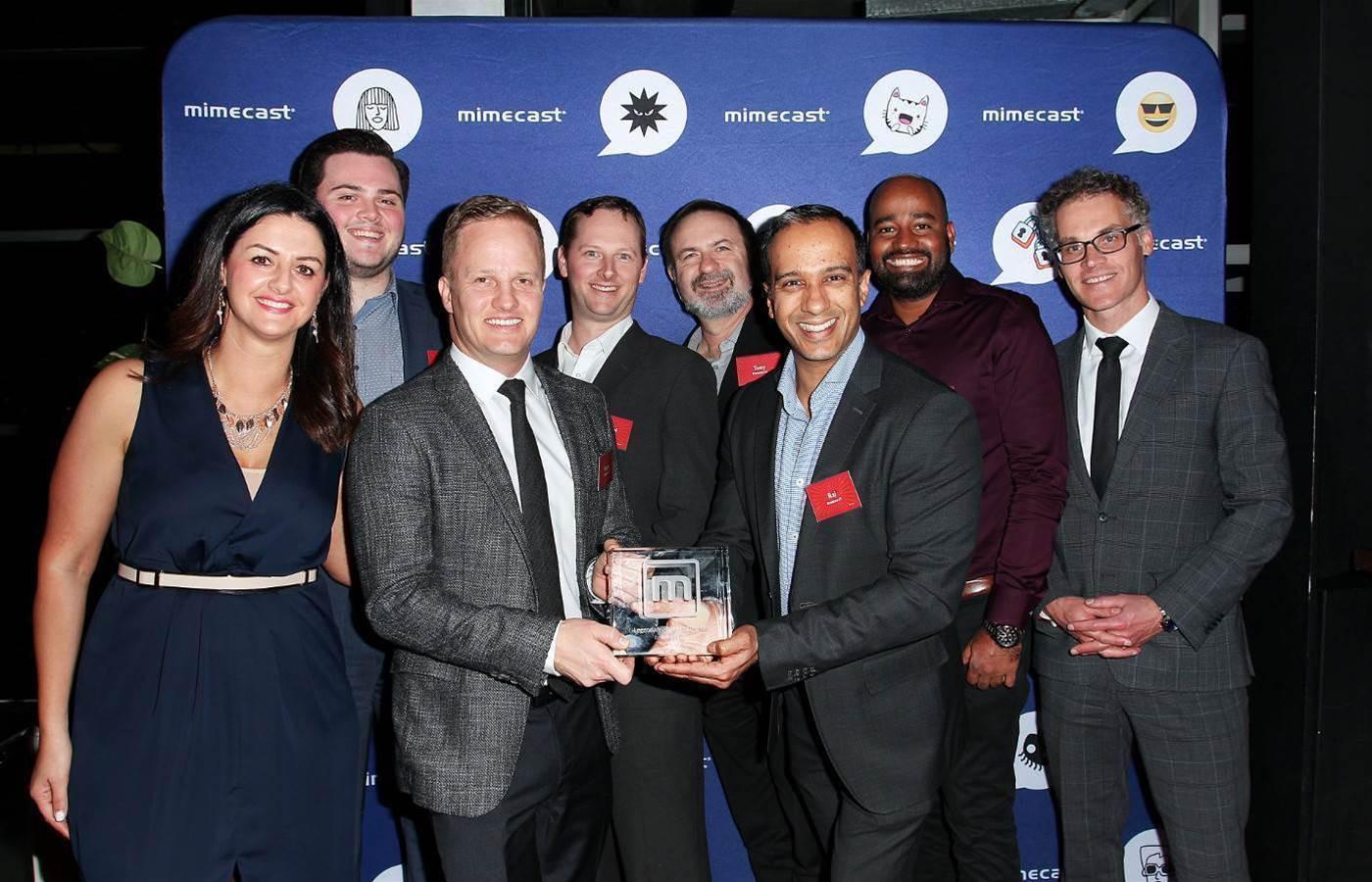 Brennan IT, Dimension Data and Data#3 headline Mimecast's 2018 partner awards