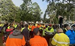 NBN technicians walk off the job protesting pay rate cuts