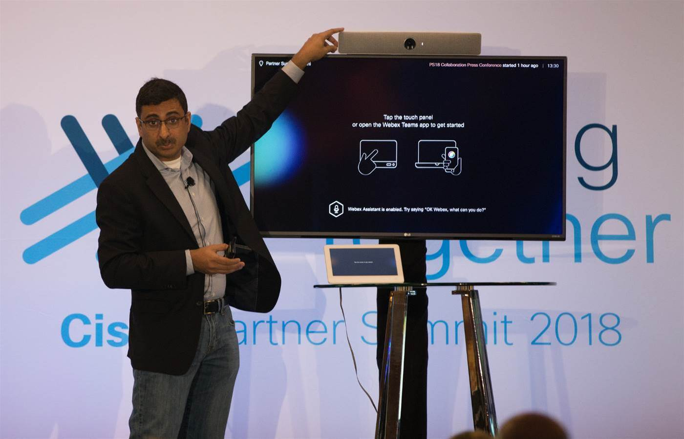 Cisco reveals three new Webex collaboration hardware solutions