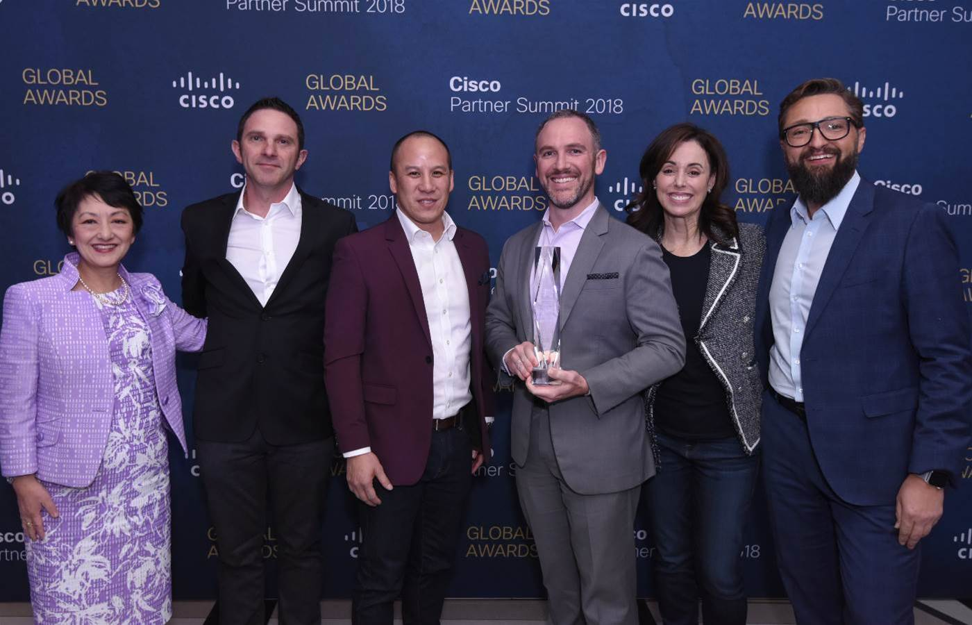 Data#3 scoops global award at Cisco Partner Summit