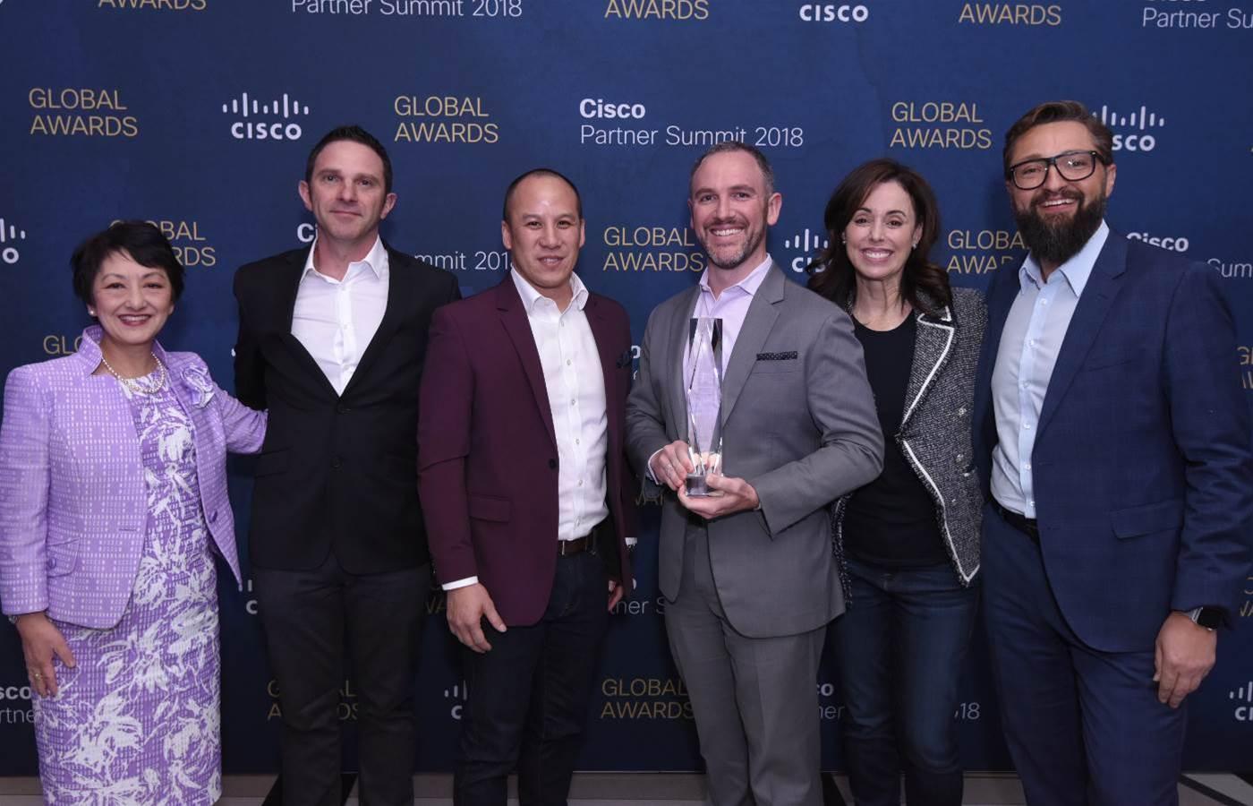 Data#3 scoops global award at Cisco Partner Summit