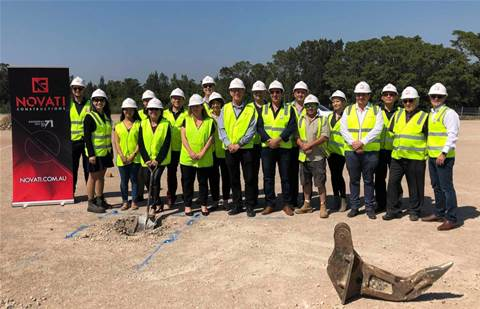 Dicker Data breaks ground on new distribution centre