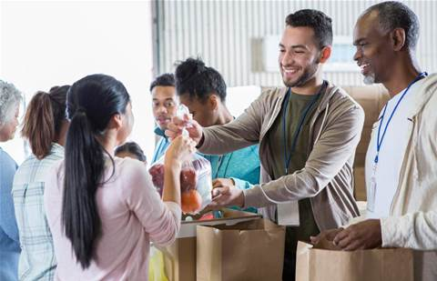 SXiQ helps convert Red Energy's old tech to 47,000 meals for food rescue charity