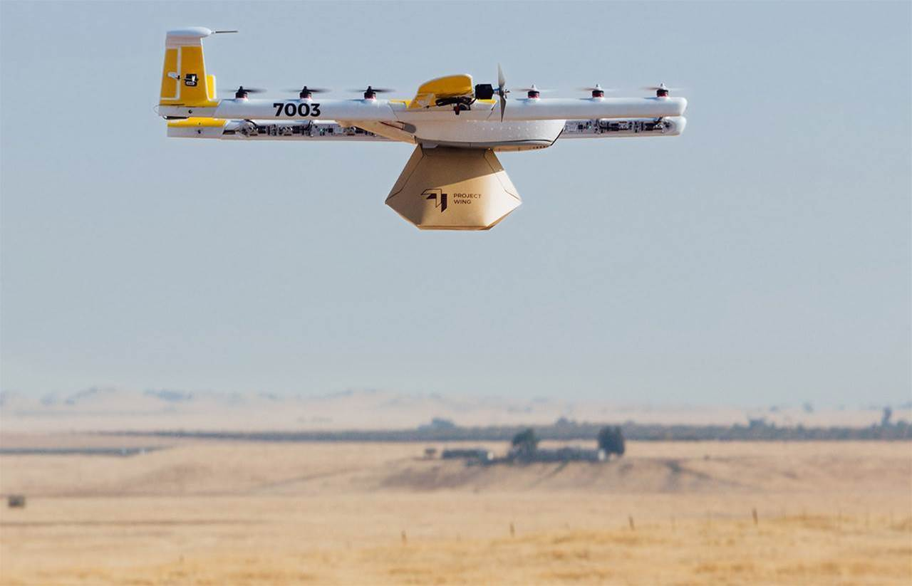 Google's drone delivery service takes off in Canberra