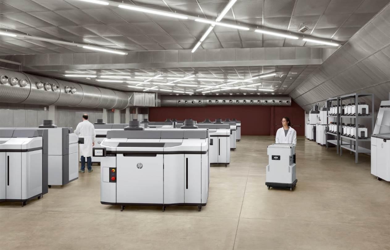 HP unveils high-volume 3D printer