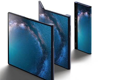 Huawei unveils $3600 folding 5G smartphone
