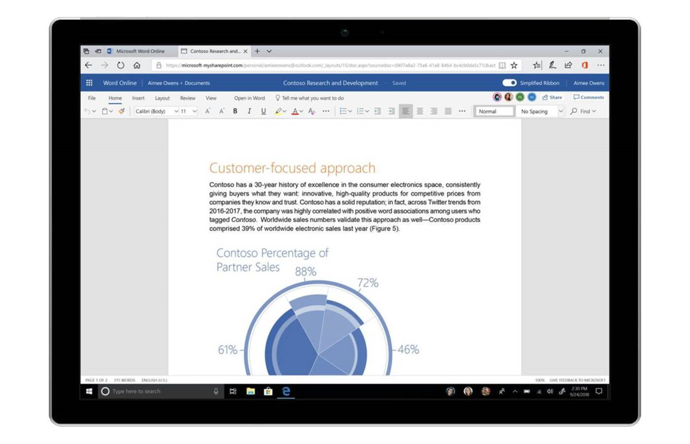 Microsoft is giving Office 365 a facelift