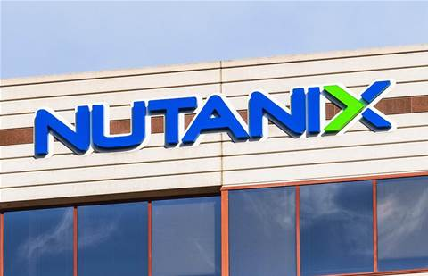 Nutanix shares crash, but CEO unfazed