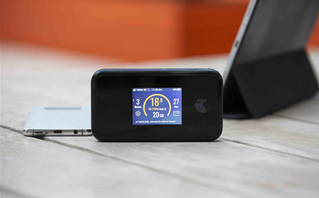 Telstra launches 5G mobile broadband device