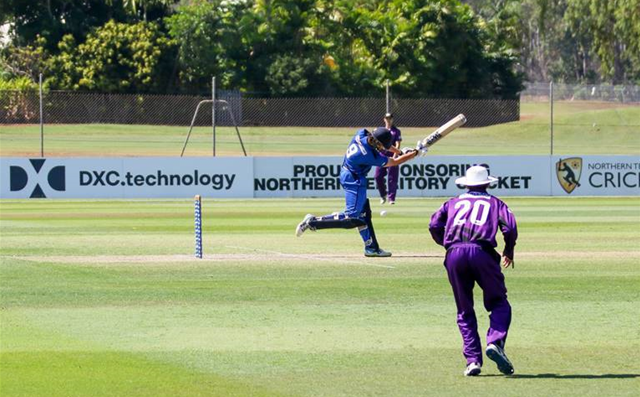 DXC named Premier Partner of NT Cricket