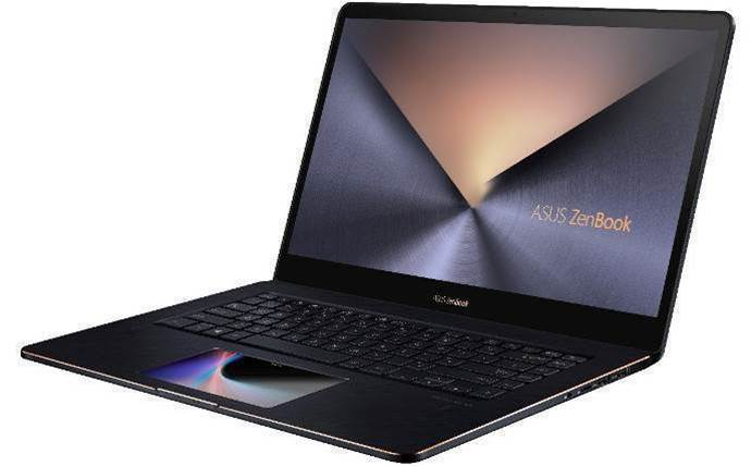 Asus turns the laptop touchpad into a touchscreen with the ZenBook Pro 15