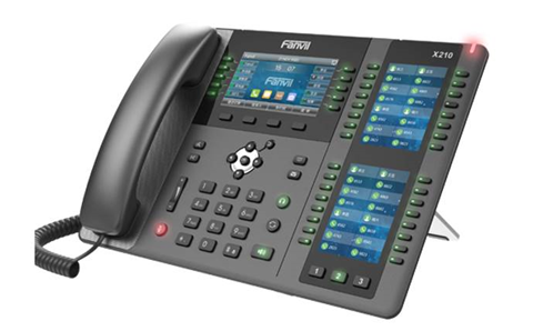 Leader to distribute VoIP phones from Fanvil