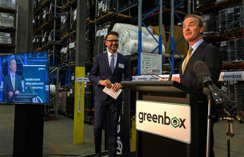 Christopher Pyne opens Greenbox IT lifecycle services facility in Canberra