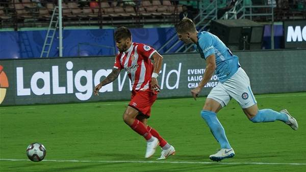 Melbourne City hit for six by La Liga club