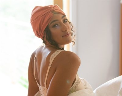 silk turbans for textured hair