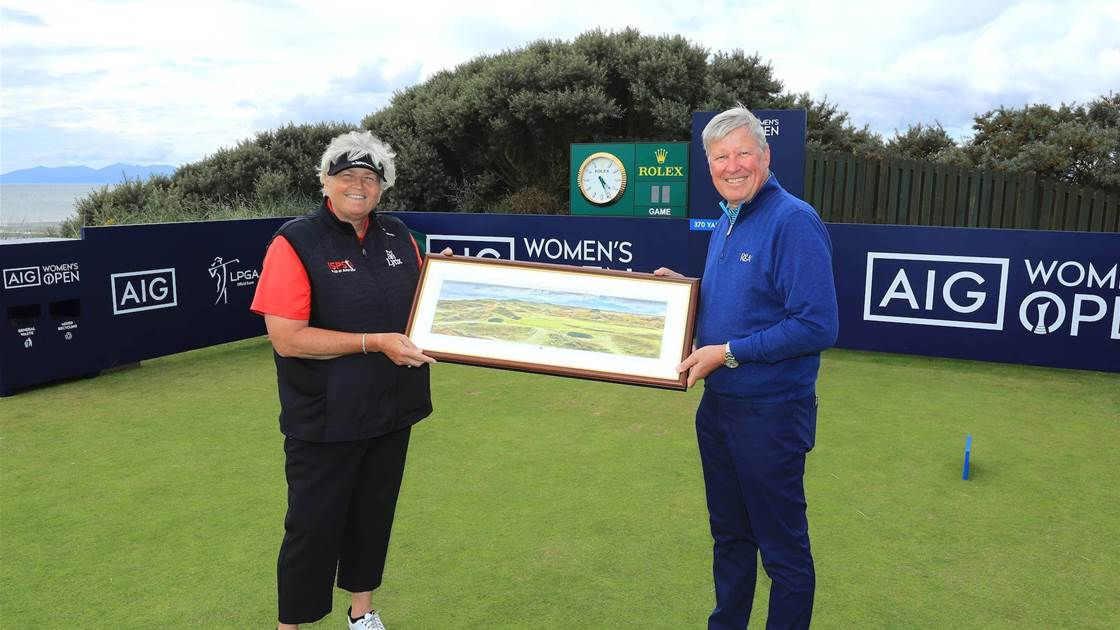 Davies delight ahead of Royal Troon tee time