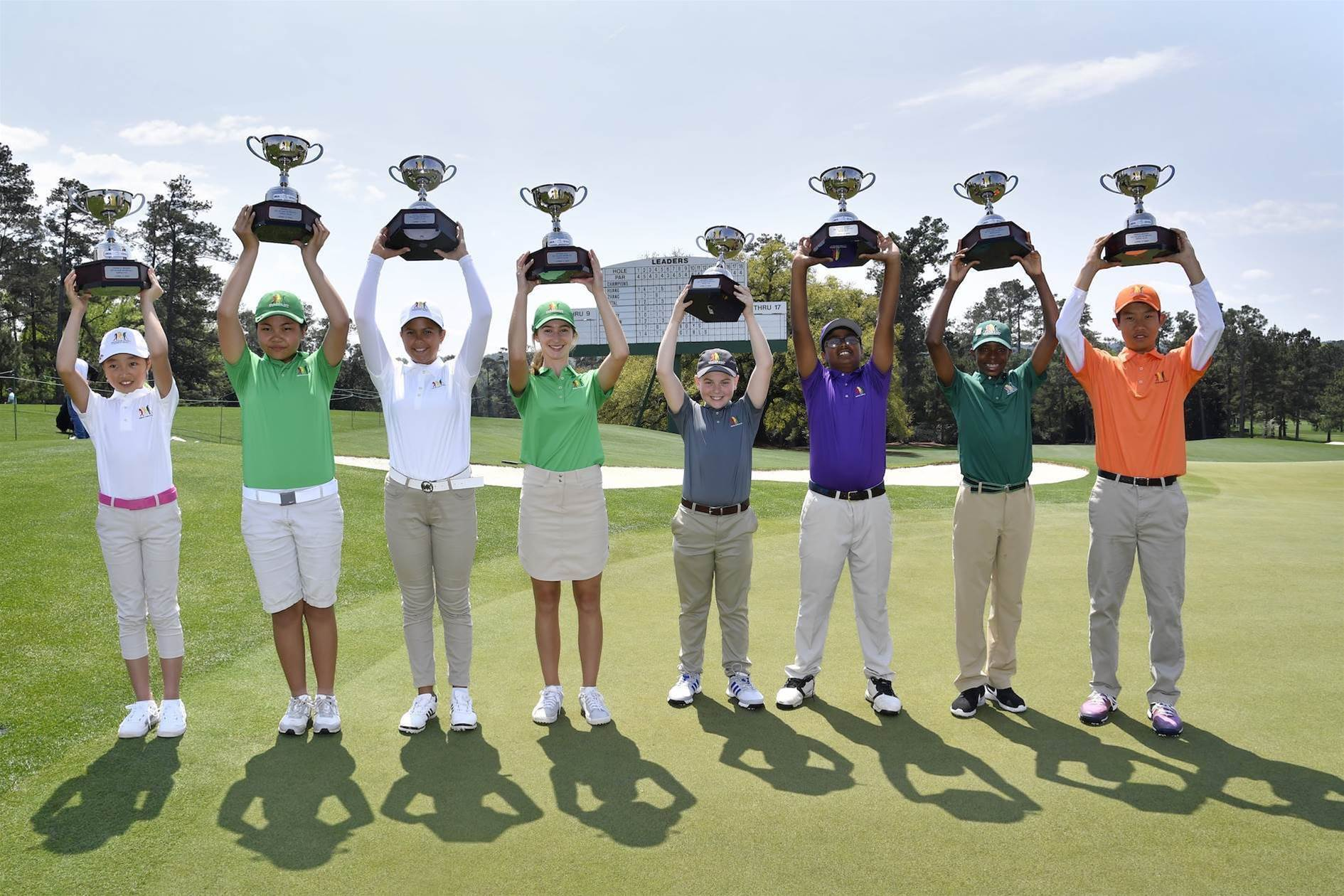 2019 Drive, Chip and Putt champions crowned at Augusta
